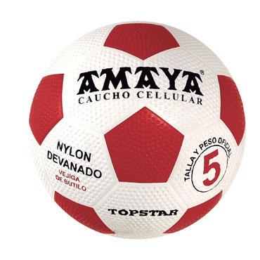 Balón fútbol Top Star caucho Amaya 700125