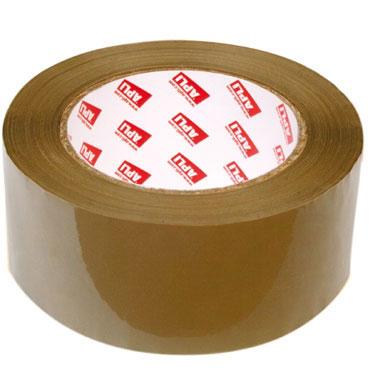 Cinta embalaje PP marrón 66 m. x 48 mm. Apli