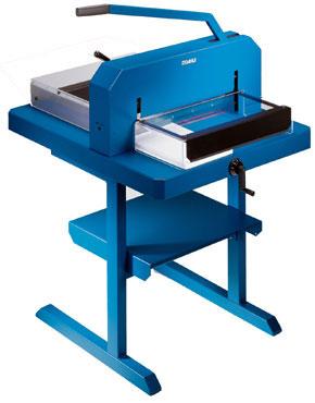 Guillotina de papel Dahle 848 para uso industrial