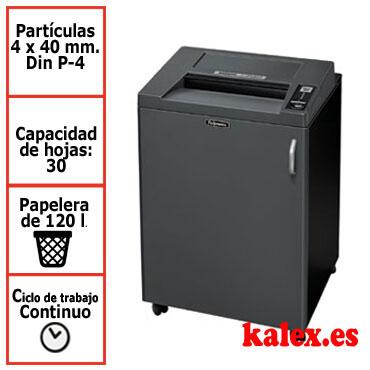 Destructora papel Fellowes 4850C departamental uso continuo &4619101