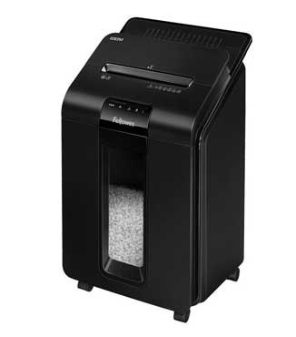 Destructora automática Fellowes Automax 100M con microcorte