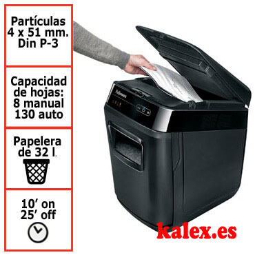 Destructora de papel Fellowes automática Automax 150C