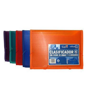Clasificador con goma Din A-5 Office Box 41015