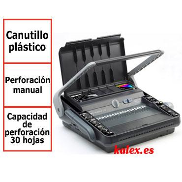 Encuadernadora GBC MultiBind 230 para canutillo plástico y wire-o