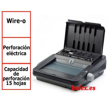 Encuadernadora GBC WireBind W25E para wire-o