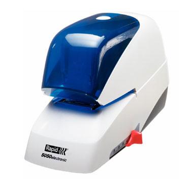 Grapadora eléctrica Rapid 5050e 50 hojas color azul