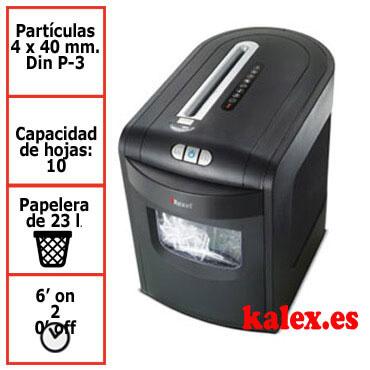 Destructora Rexel Mercury REX1023 para uso profesional