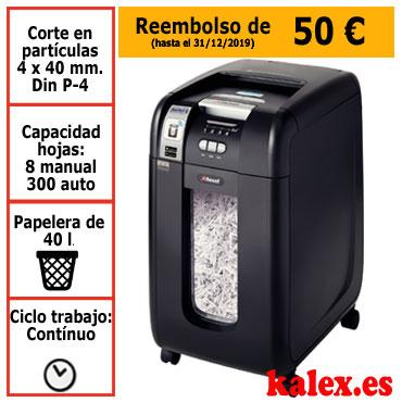 Destructora automática Rexel Auto+ 300X SmarTech