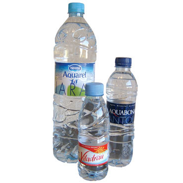 Pack 35 botellas agua mineral 33 cl.