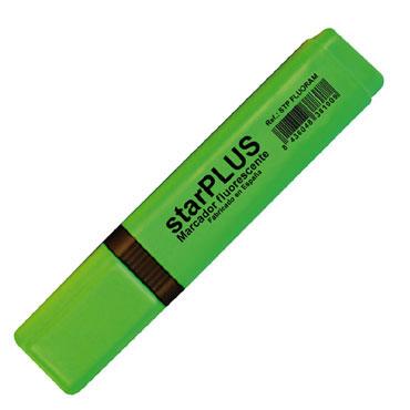 Marcador fluorescente verde starPLUS