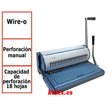 Encuadernadora W28 Yosan wire-o