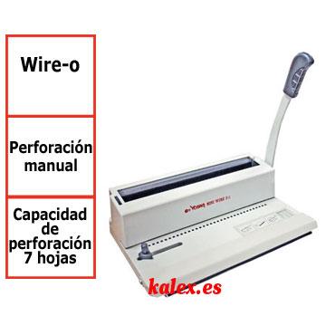 Encuadernadora Yosan OFI 3/1 wire-o