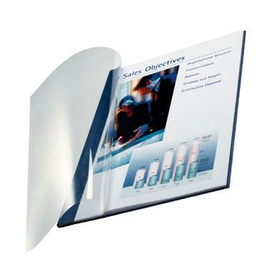10 tapas ImpressBind Leitz flexibles azules B 74140035