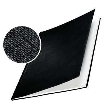 10 tapas ImpressBind rígidas gofrado lino negro F Leitz &73960095