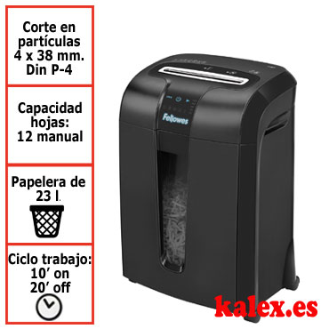 Destructora de papel Fellowes 73Ci uso profesional