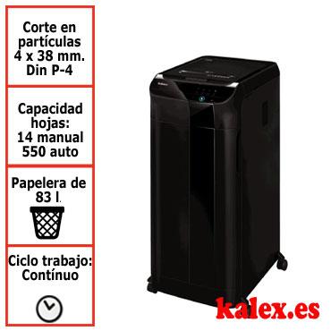 Destructora de papel automática Fellowes 4963101