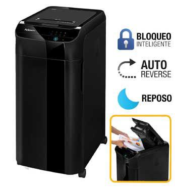Destructora de papel automática Fellowes 4964101