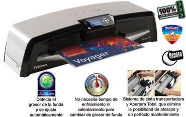 Plastificadora Fellowes Voyager Din A-3
