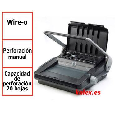 Encuadernadora GBC WireBind W20 wire