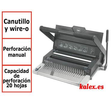 Encuadernadora GBC MultiBind 420 para canutillo plástico y wire-o &4400435