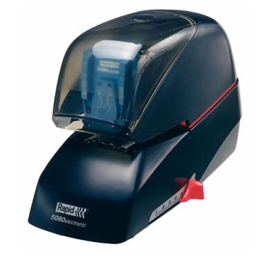 Grapadora eléctrica Rapid 5080e 80h negra