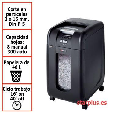 Destructora automática Rexel Auto+ 300M microcorte