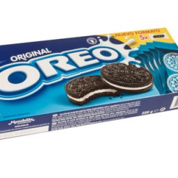 Galleta Oreo original. Paquete de 220 g.