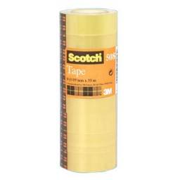 Pack 8 cintas adhesivas Scotch 19 mm. x 33 m. A45343