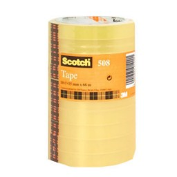 Pack 8 cintas adhesivas Scotch 19 mm. x 66 m. C75621