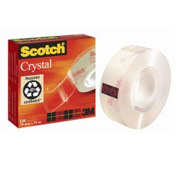 Cinta adhesiva Scotch Crystal 19 mm. x 33 m. C29425