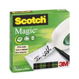 Cinta adhesiva Scotch Mágica 12 mm. x 33 m. C02067