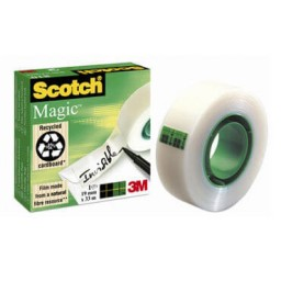 Cinta adhesiva Scotch Mágica 19 mm. x 33 m. A02068