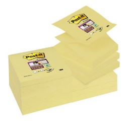 BL90 Z-Notes Super Sticky amarillo 76 x 76 mm. Post-it