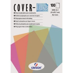 Cover-luxe lila PQ100 Canson