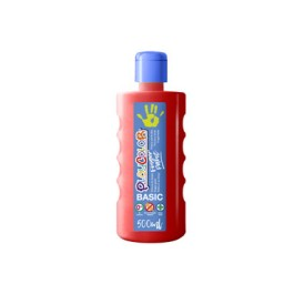 Bote 500 ml. pintura de dedos rojo Playcolor 17721