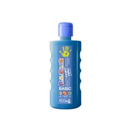 Bote 500 ml. pintura de dedos azul Playcolor 17741