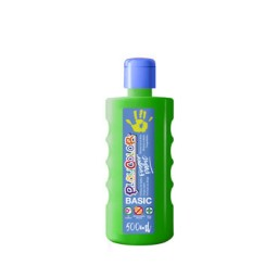 Bote 500 ml. pintura de dedos verde Playcolor 17751