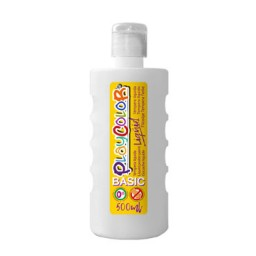 Bote 500 ml. témpera líquida blanca Playcolor 19341