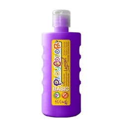 Bote 500 ml. témpera líquida violeta Playcolor 19441