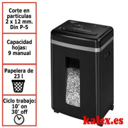 Destructora de papel Fellowes 450M para uso moderado