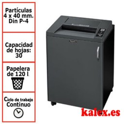 Destructora papel Fellowes 4850C departamental uso continuo &4619101