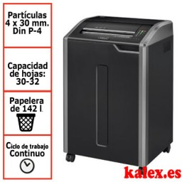 Destructora Fellowes 485Ci para uso departamental