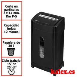 Destructora de papel Fellowes 46Ms uso moderado