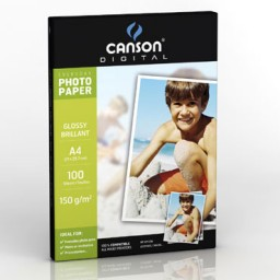 100HJ papel Glossy Everyday 150 g/m² Din A-4 Canson