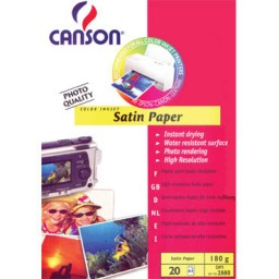 Satin Paper 180g A4 PQ20 Canson