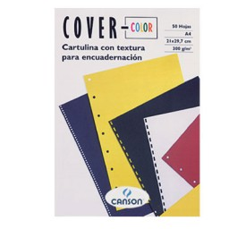 PQ50 Cover Color negro 300 g/m² Din A-4 Canson