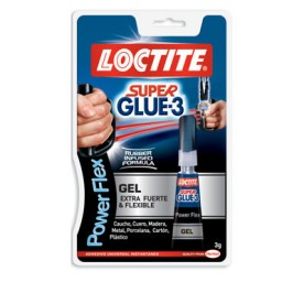 Pegamento Super Glue3 Power Gel 3 g. Loctite A42530