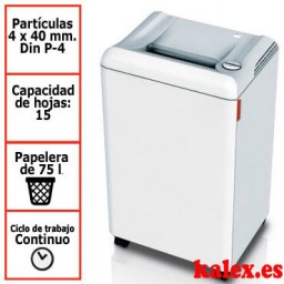 Destructora IDEAL 2503C para uso departamental