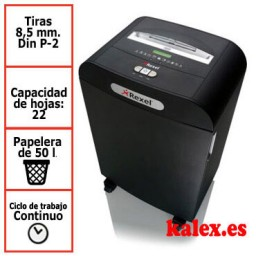Destructora Rexel Mercury RDS2250 para uso departamental