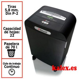 Destructora Rexel Mercury RDS2270 para uso departamental